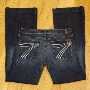 7 For All Mankind Dojo Jeans- sz 28